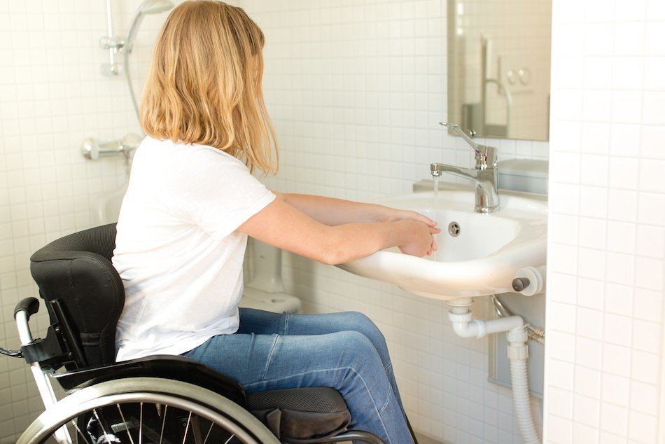 Creating Bathroom for Wheelchairs