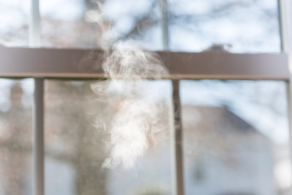 Vaping Residue on Window