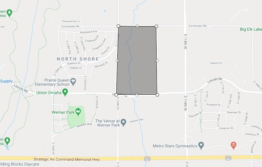 Map of North Shore Phase 2