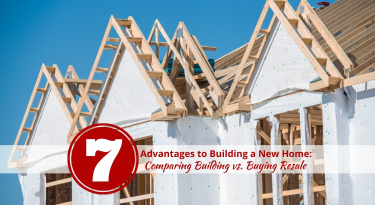 Advantages to New Home Construction