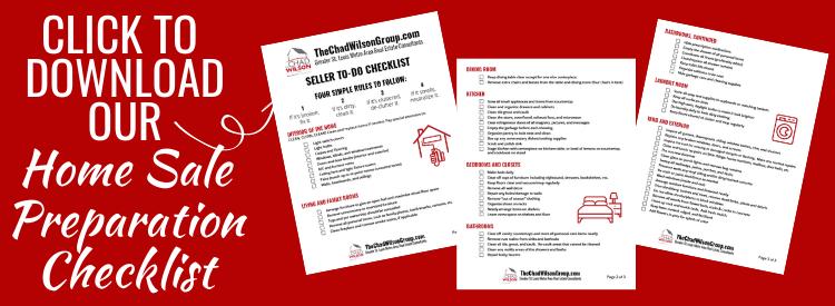 Home Seller Preparation Checklist