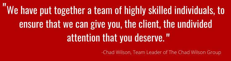 Real Estate Team Quote