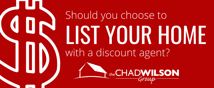 Should you choose to list your home with a discount agent?