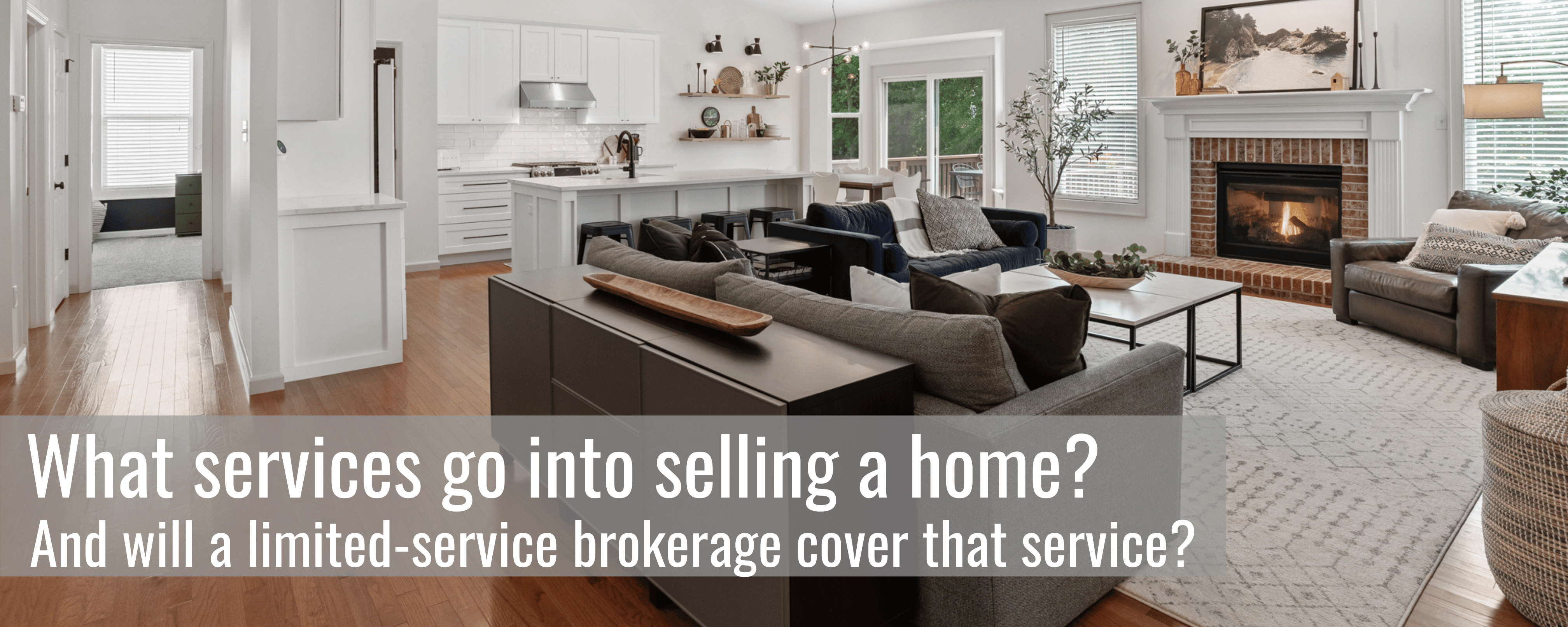 What goes into selling a home?