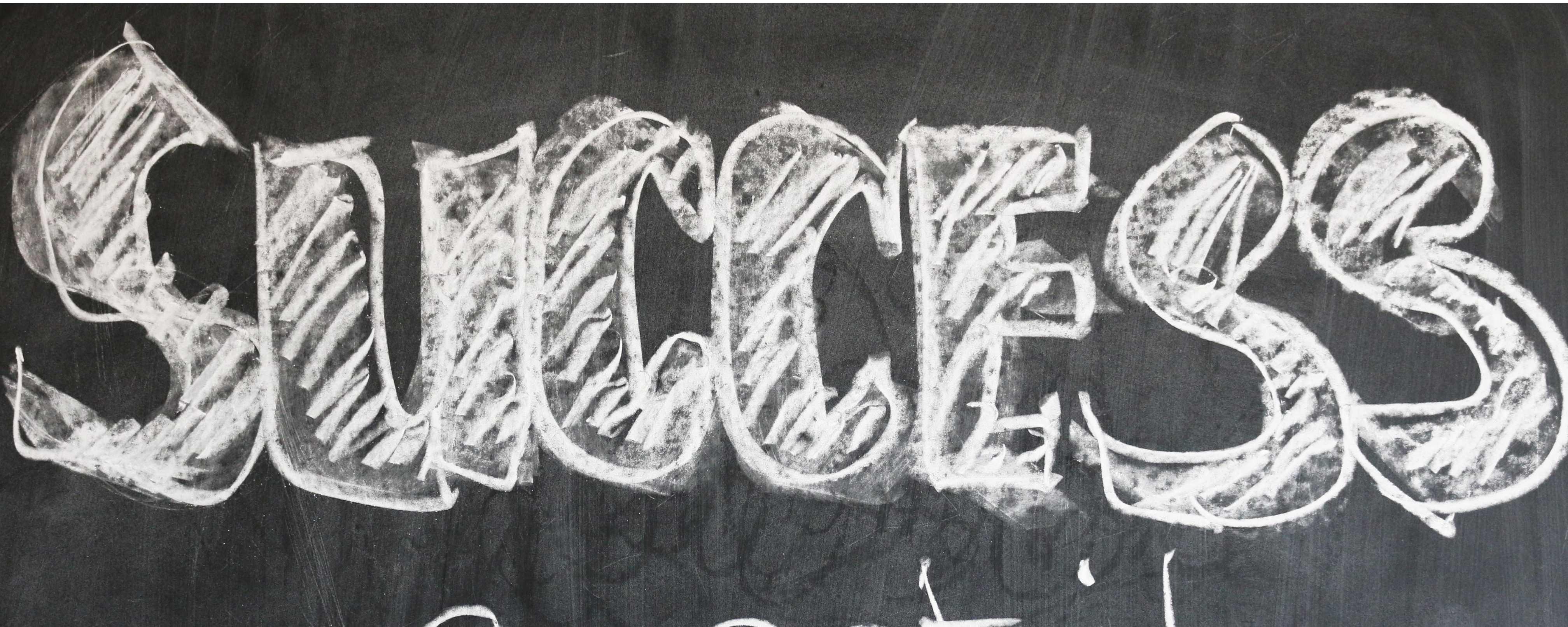 Homeschool Chalkboard Success