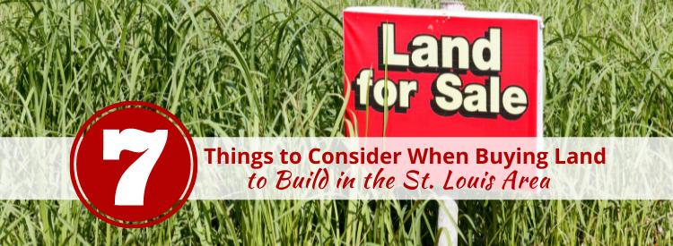 Buying Land St. Louis