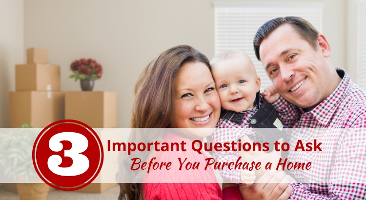 Questions to Ask Before You Purchase a Home