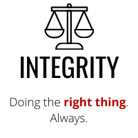 CWG Values Integrity
