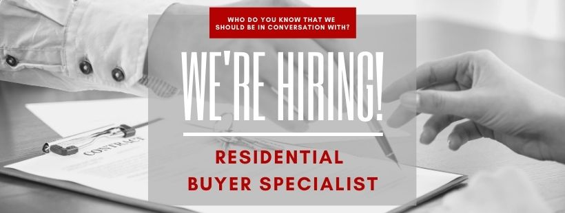 Now Hiring Buyer Specialist