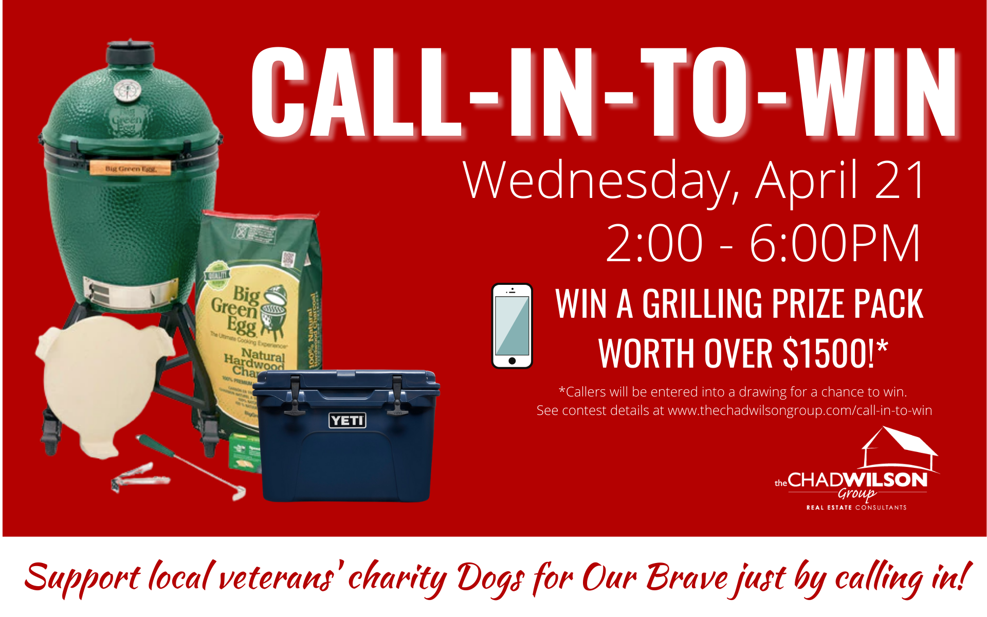 Call in to Win Event