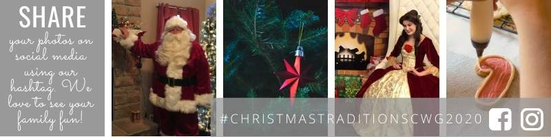 Christmas Traditions Hashtag Banner