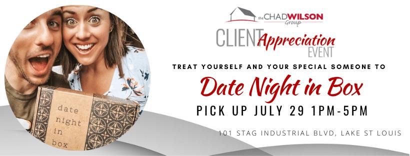 Client Appreciation Event Date Night