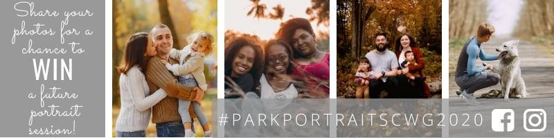 Portraits in the Park Hashtag