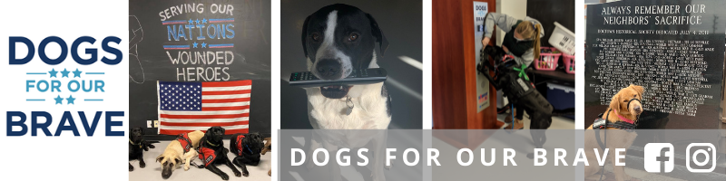 Dogs for Our Brave Banner