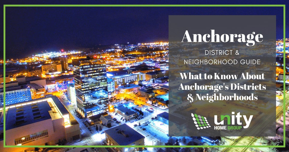 Neighborhoods and Districts in Anchorage