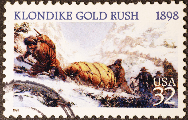 The Klondike Gold Rush of 1898