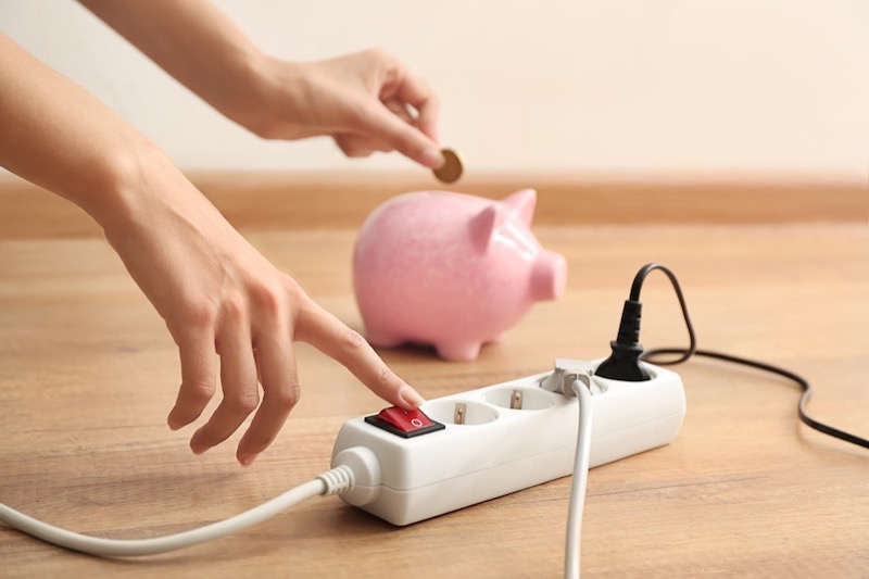Energy Saving Power Strip Usage