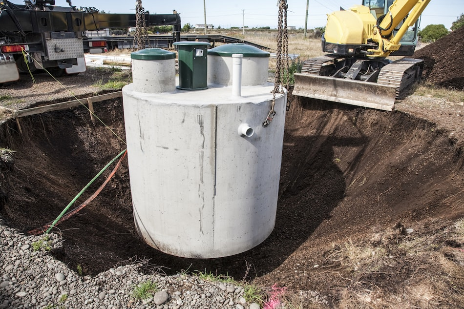 Septic Tank in New Home