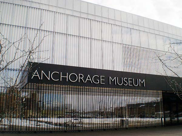 Anchorage Museum - https://en.wikipedia.org/wiki/File:Anchorage_Museum.jpg