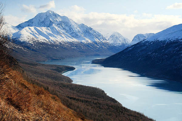Lake Eklutna - Image Credit: https://www.flickr.com/photos/72213316@N00/3200123361/
