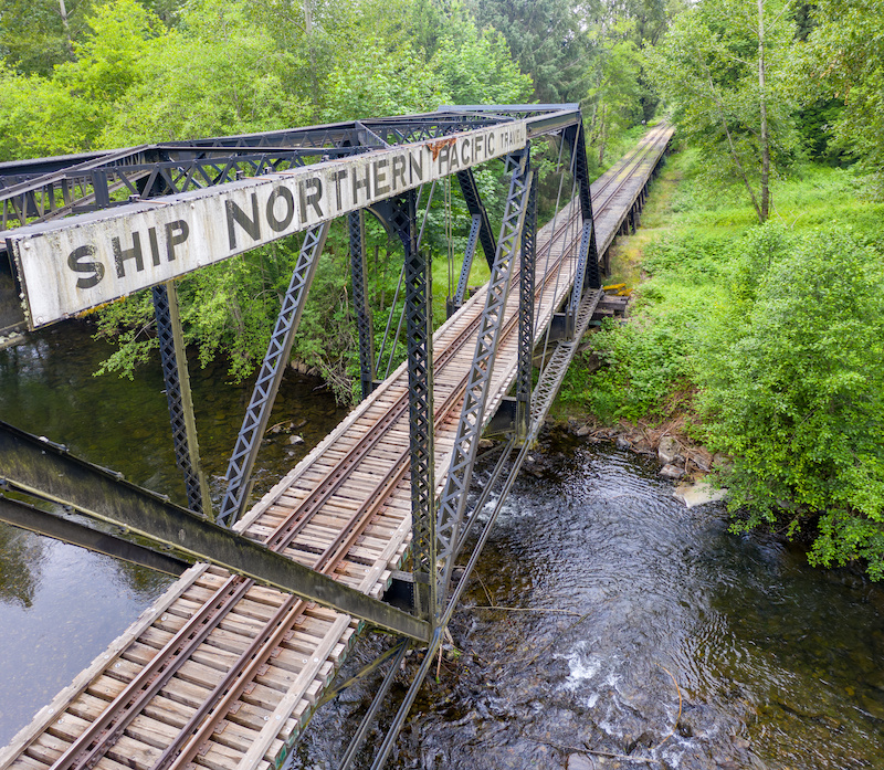 Spokane is a Major Stop for the Nothern Pacific Railway