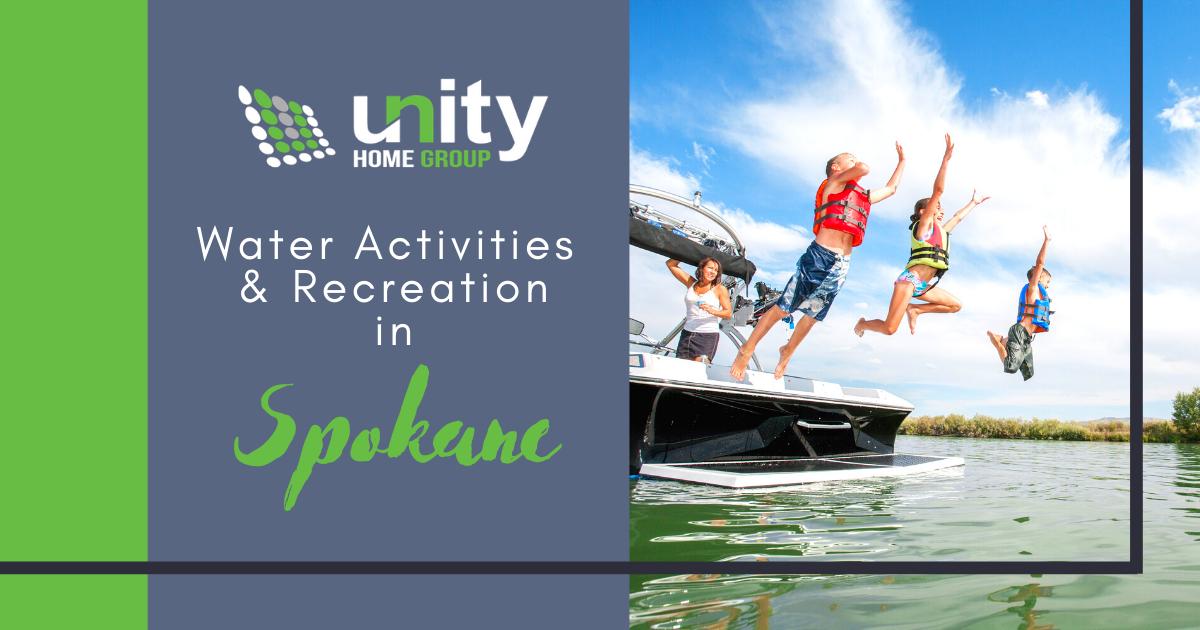Best Water Activities in Spokane