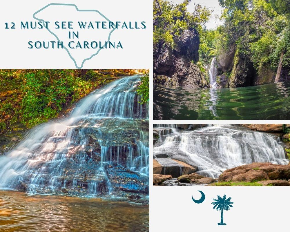 Photos of Waterfalls found throughout South Carolina