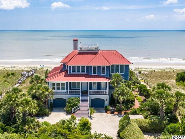 Debordieu Oceanfront Beach Home