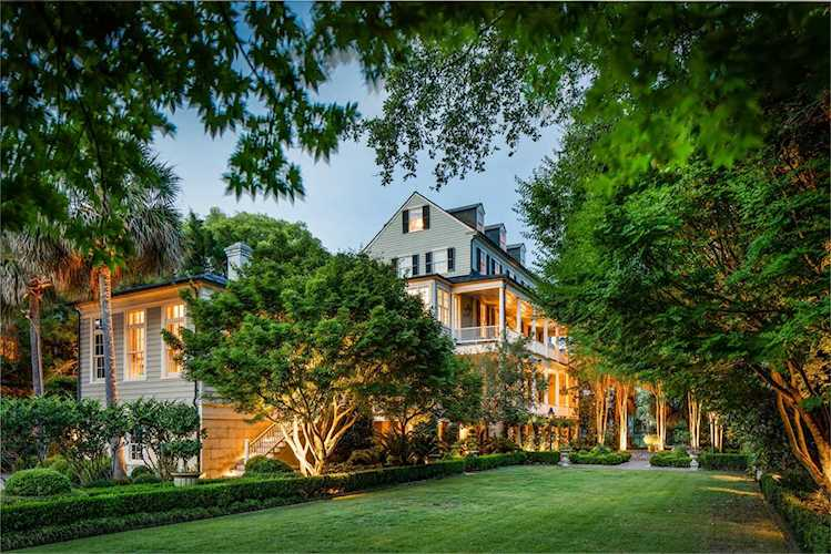 Luxury Home Downtown Charleston surrounded by Trees