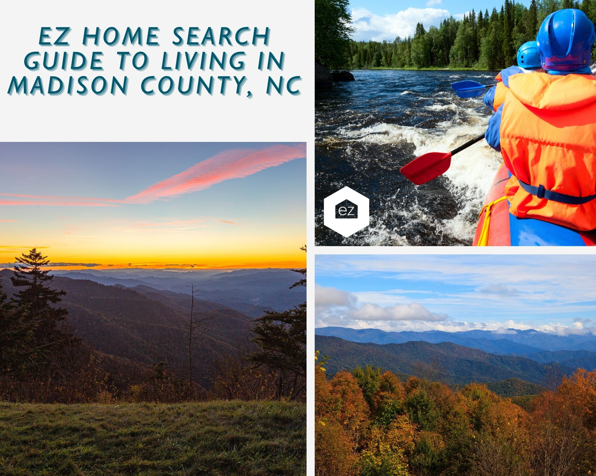 Phots of NC Mountains and rafting