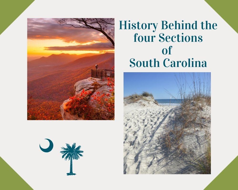 Photo of a beach in South Carolina and upstate South Carolina Mountains