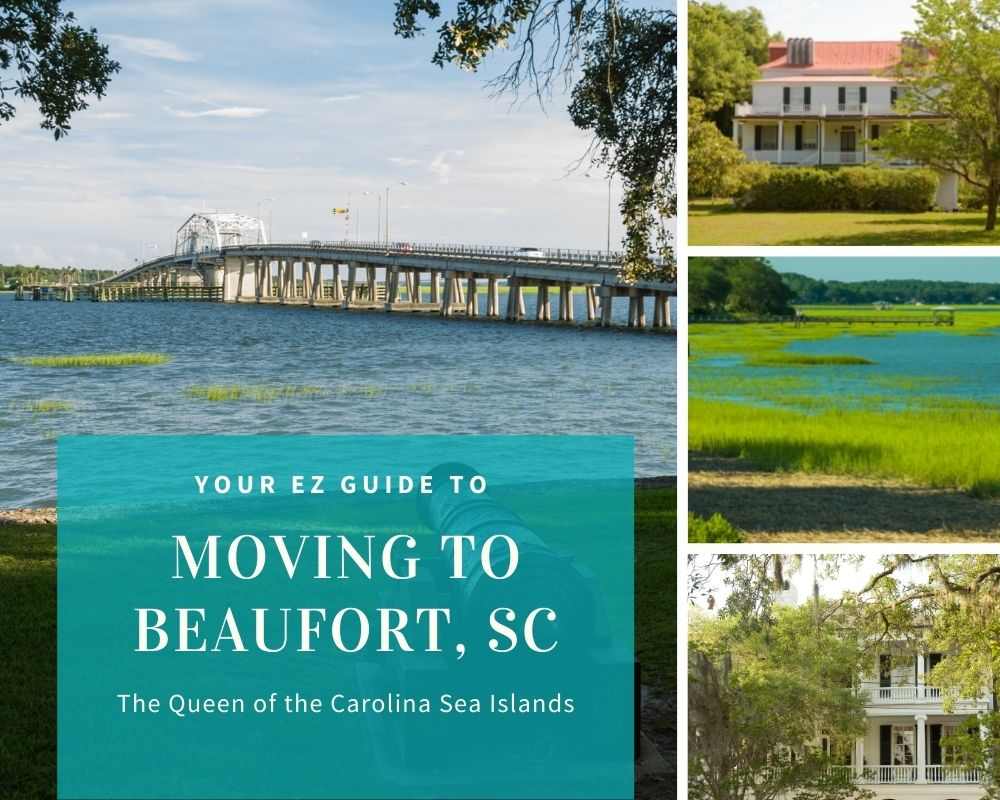 Photos of Beaufort, SC waterfront and homes in Beaufort