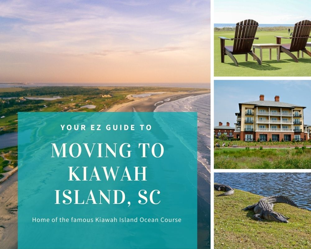 Photos from Kiawah Island with beaches, golf courses, and water