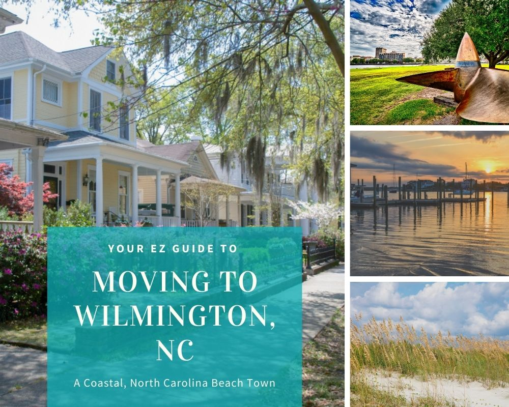 Photos taken in Wilmington, NC of homes, waterfront, and beaches