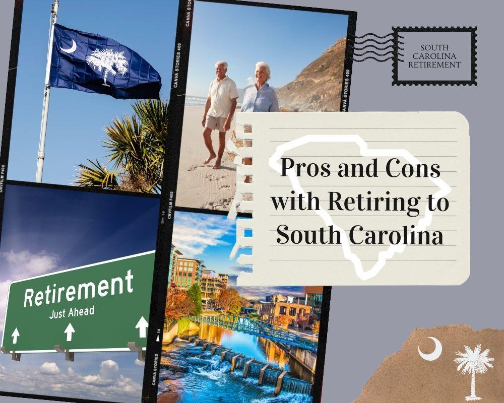 Photos of South Carolina and SC state flag