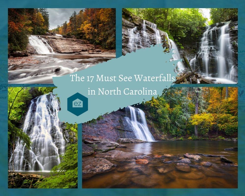 Photos of Waterfalls found throughout North Carolina