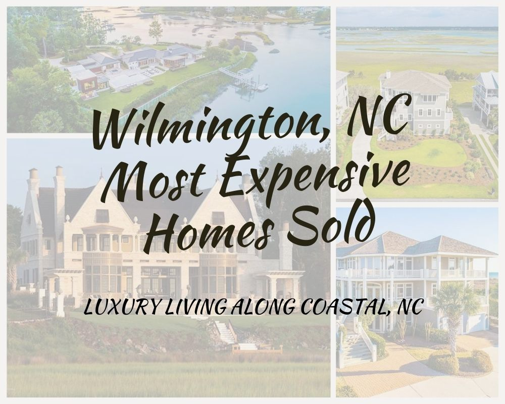 Images of million dollar homes that sold in Wilmington, NC