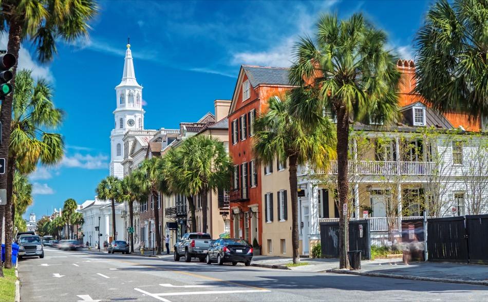 Charleston, South Carolina, Historic Monuments and Sites