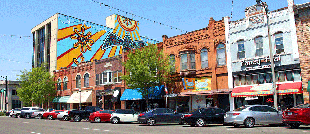 Downtown Norman OK