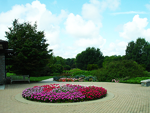 Arboretum In Lexington KY, a pic showing flowers