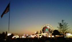 2010 KY State Fair Skyline at Dusk