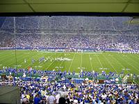 Kentucky Football Stadium, Crowd View During Game