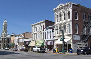 historic buildings in downtown georgetown ky