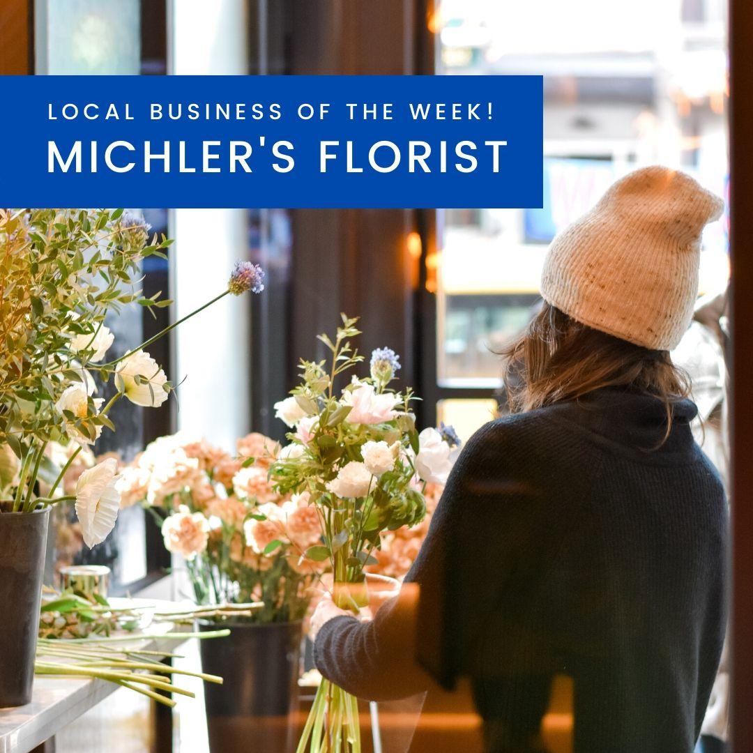 Flower shopping at Michler's Florist in Lexington KY