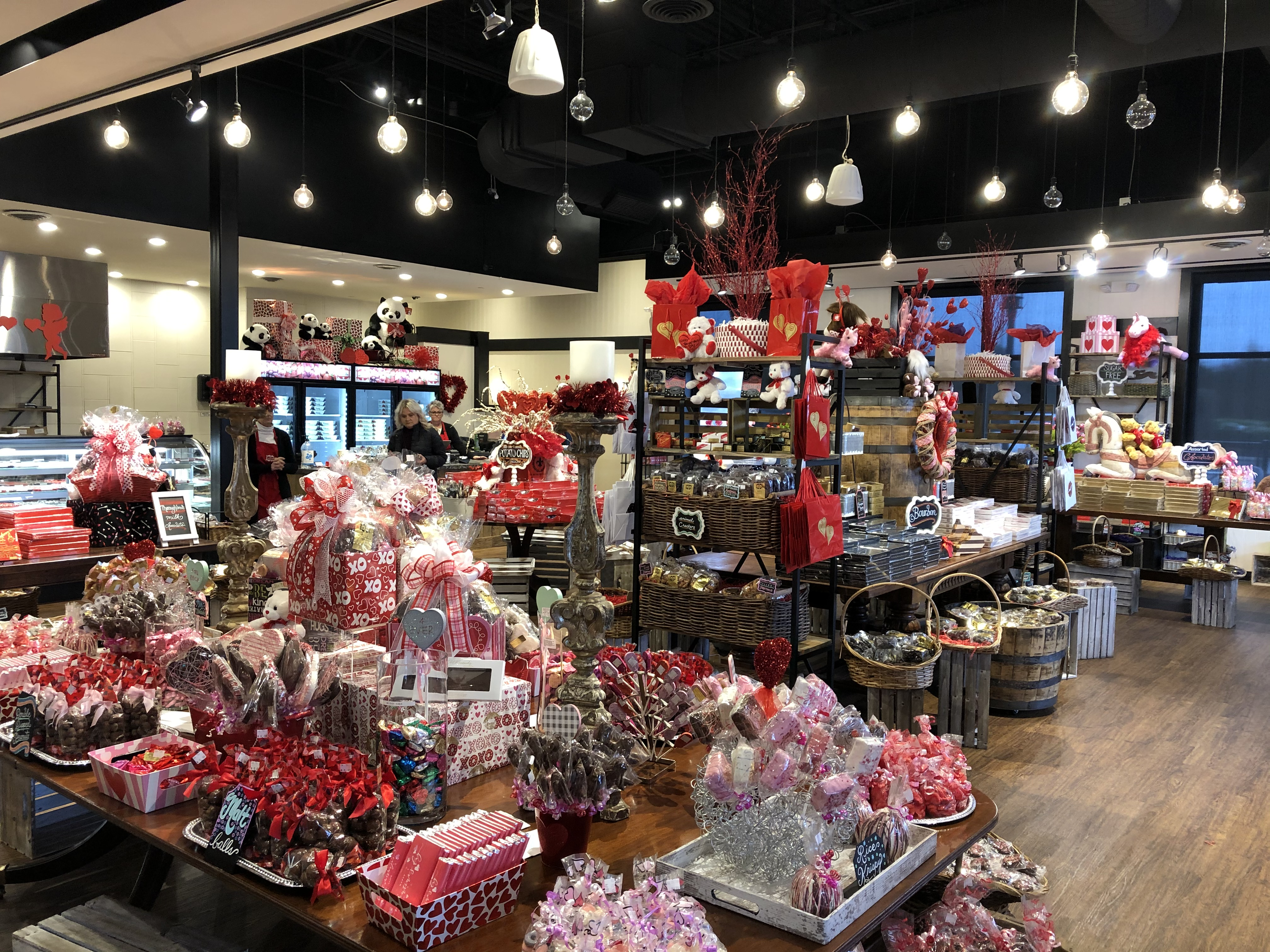 Inside at Old Kentucky Chocolates at the Hamburg Location