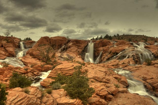 Gunlock Falls