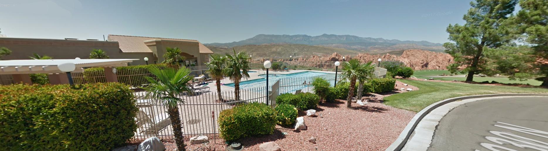 Sky Mountain Estates Clubhouse Pool Views