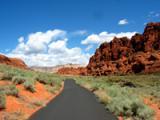 St George Utah Geology - Red Sandstone Dirt
