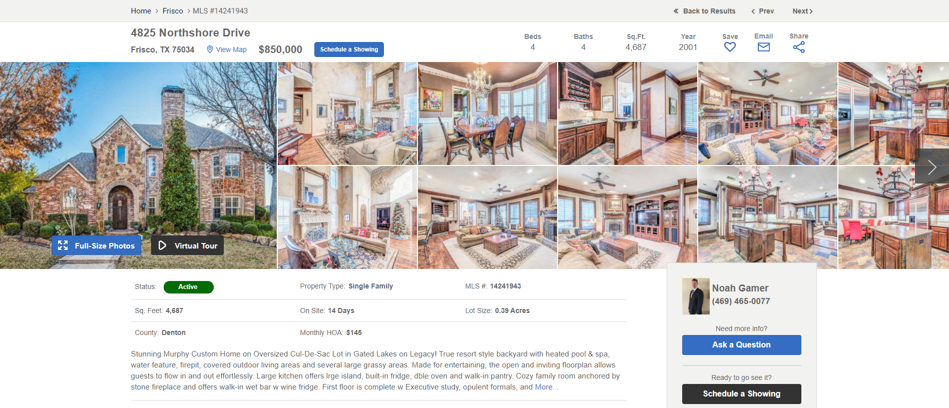 Featured Homes Search Results