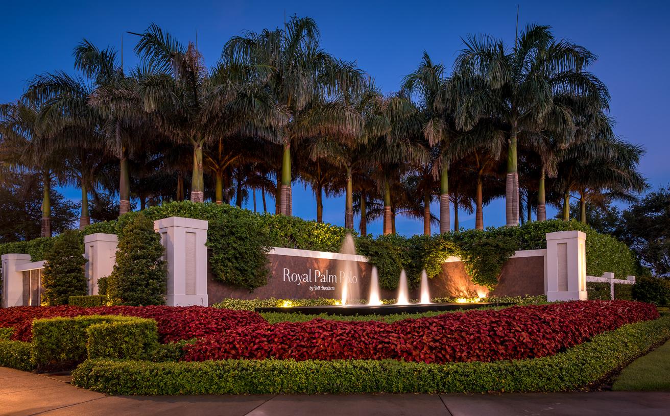 The Neighborhood of Royal Palm Polo, Boca Raton Florida
